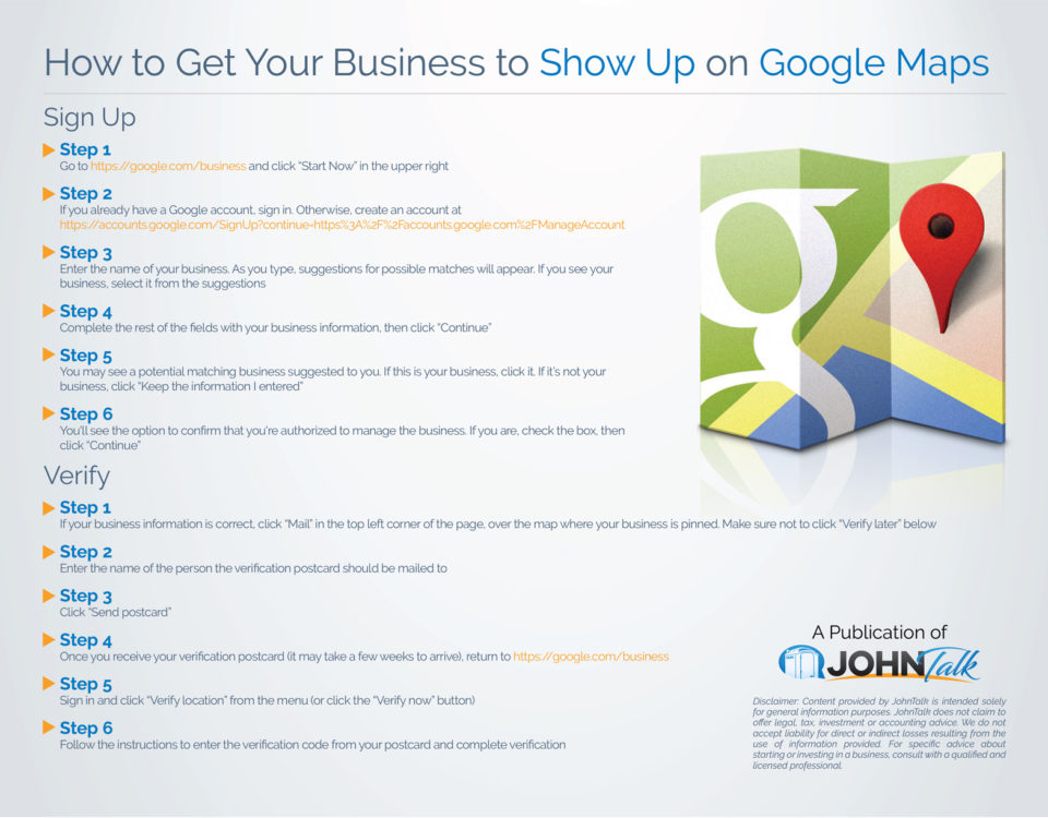 How to Get Your Business to Show Up on Google Maps