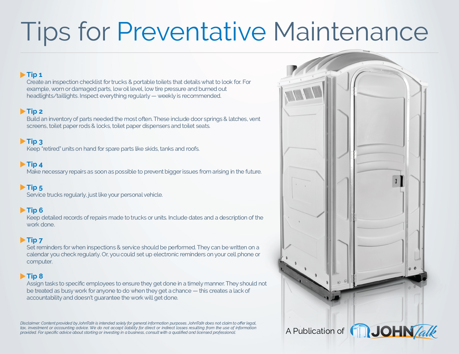 Tips for Preventative Maintenance