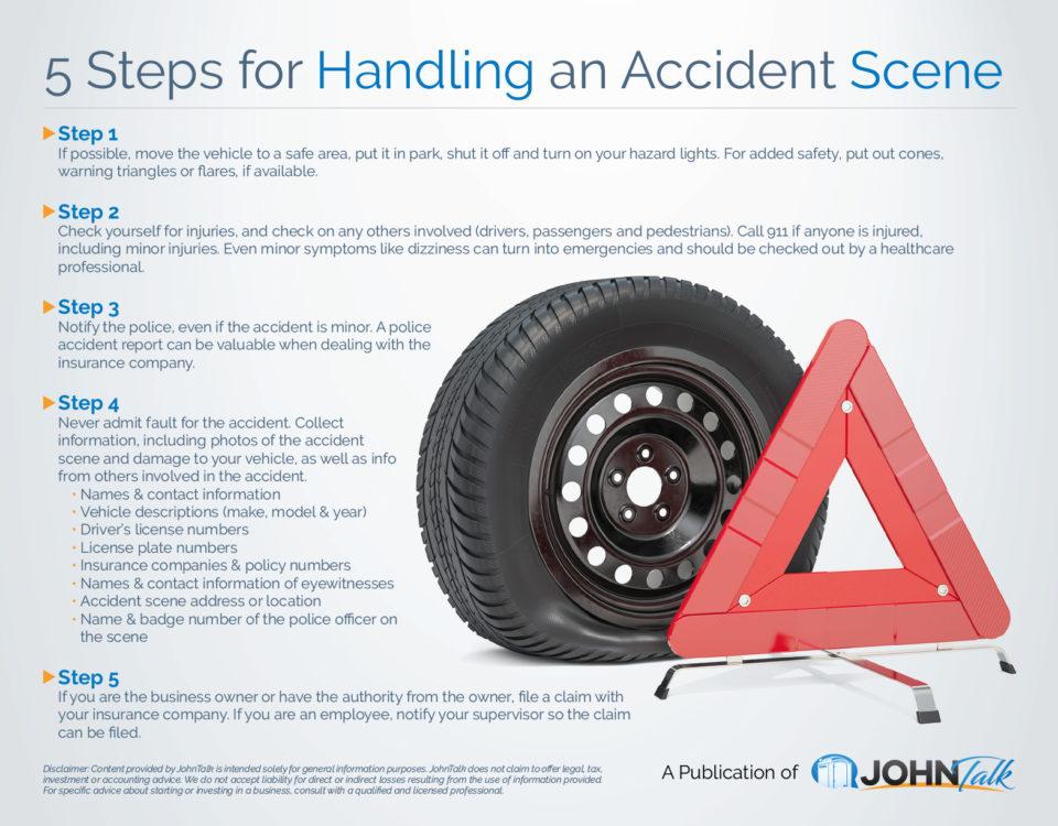 5 Steps for Handling an Accident Scene