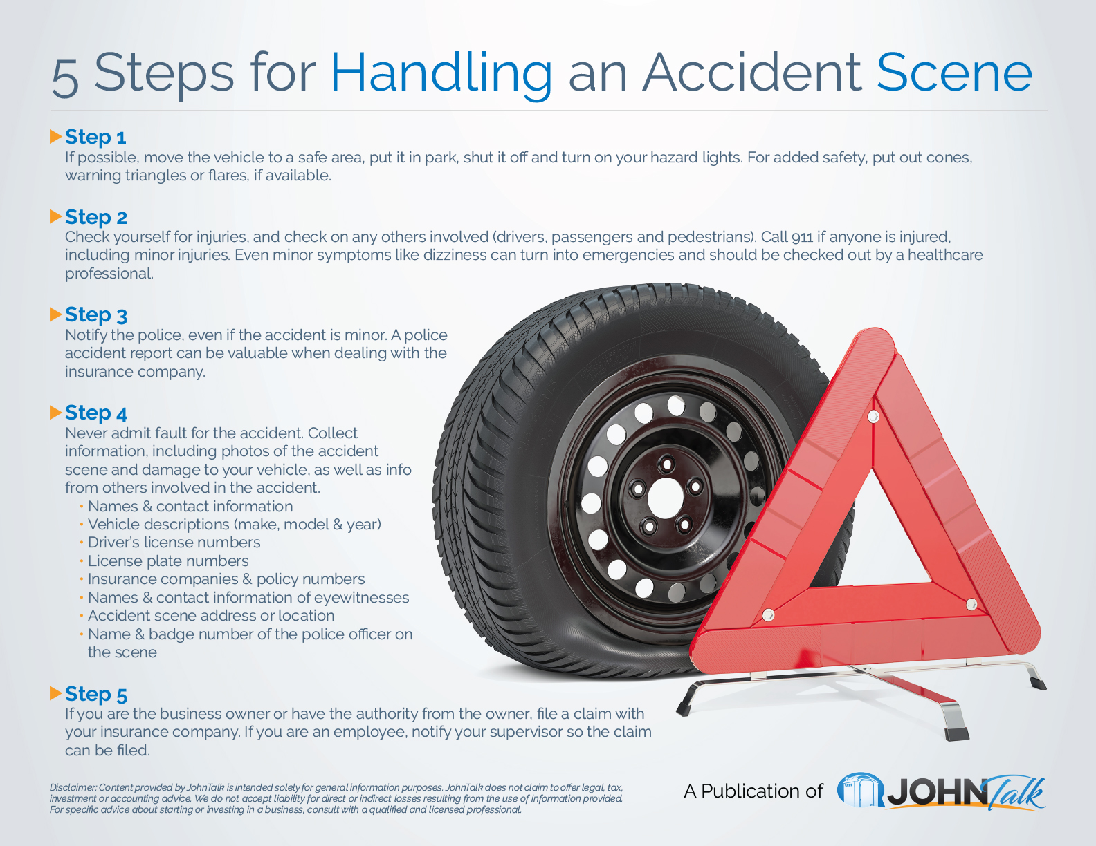 5 Steps for Handling an Accident Scene