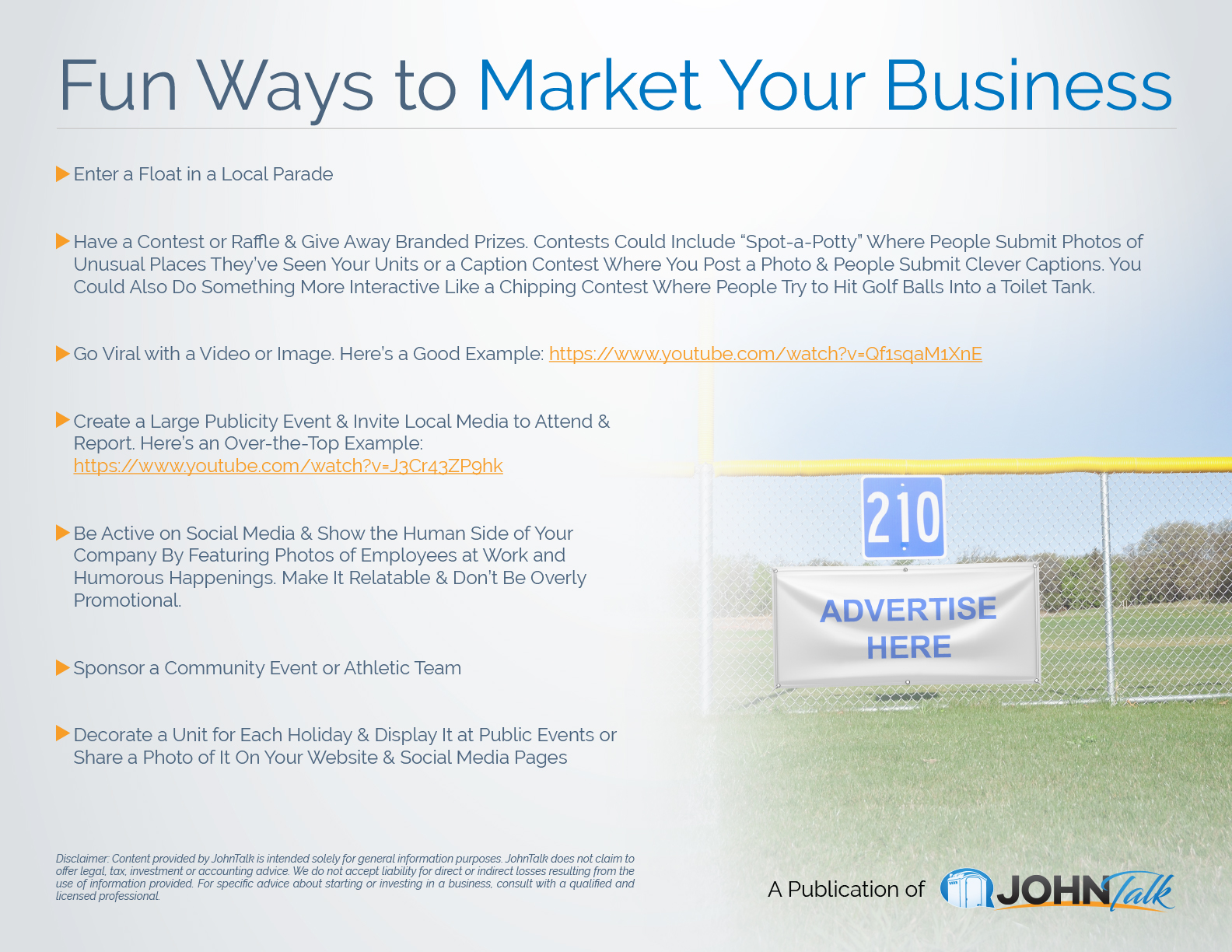 Fun Ways to Market Your Business 2