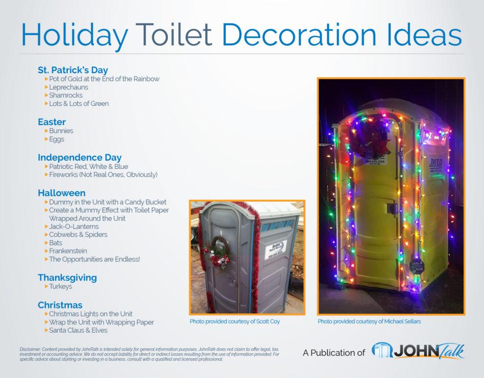 Holiday Toilet Decoration Ideas