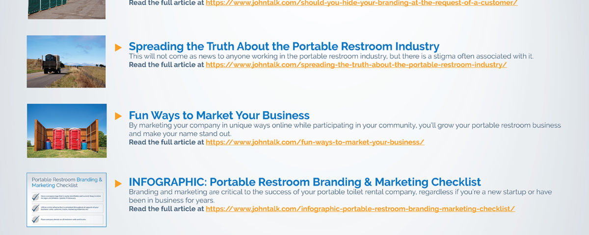 Top JohnTalk Sales & Marketing Articles