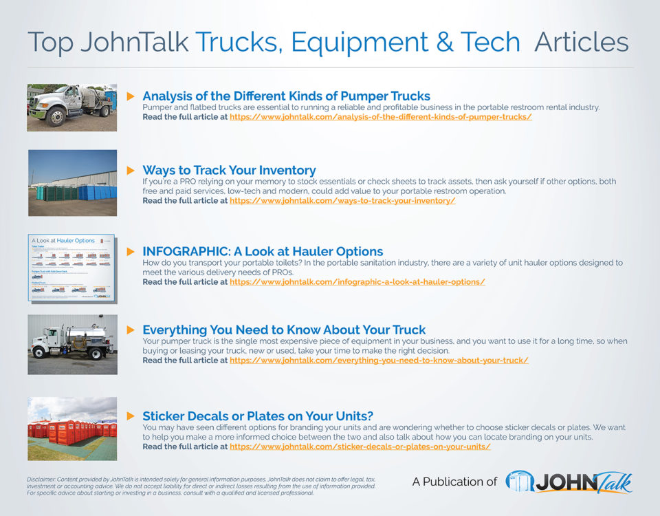 Top JohnTalk Trucks, Equipment & Tech Articles