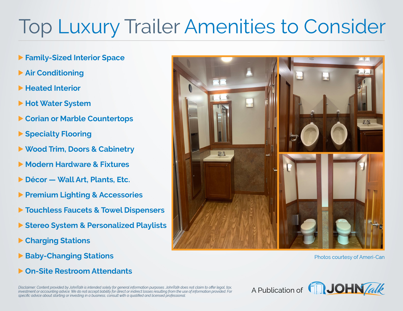 Top Luxury Trailer Amenities to Consider