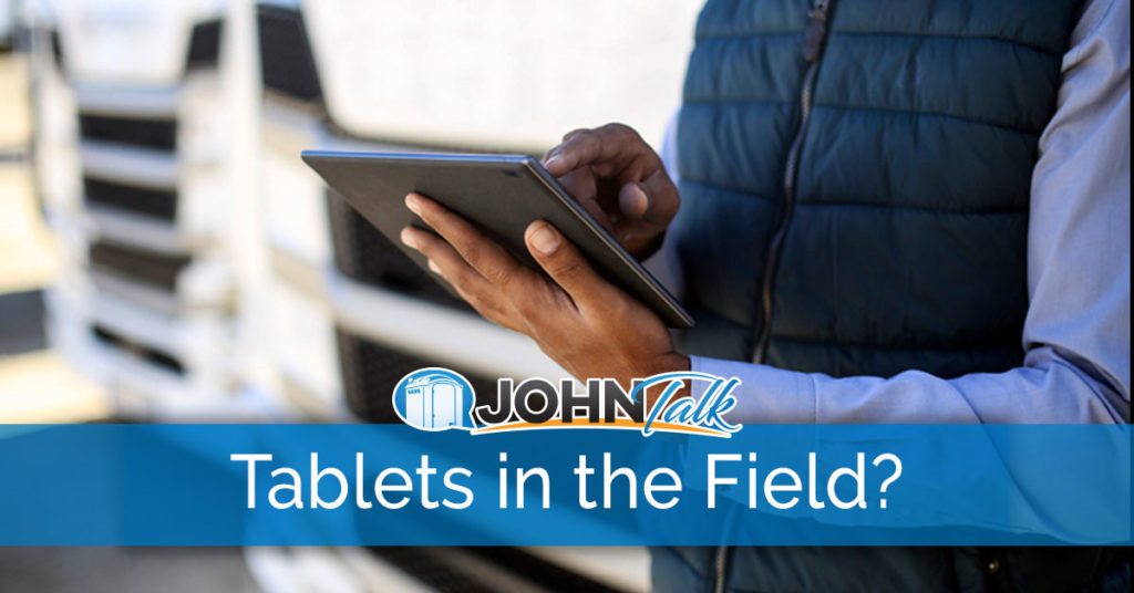 Are Tablets a Real Solution for in the Field?