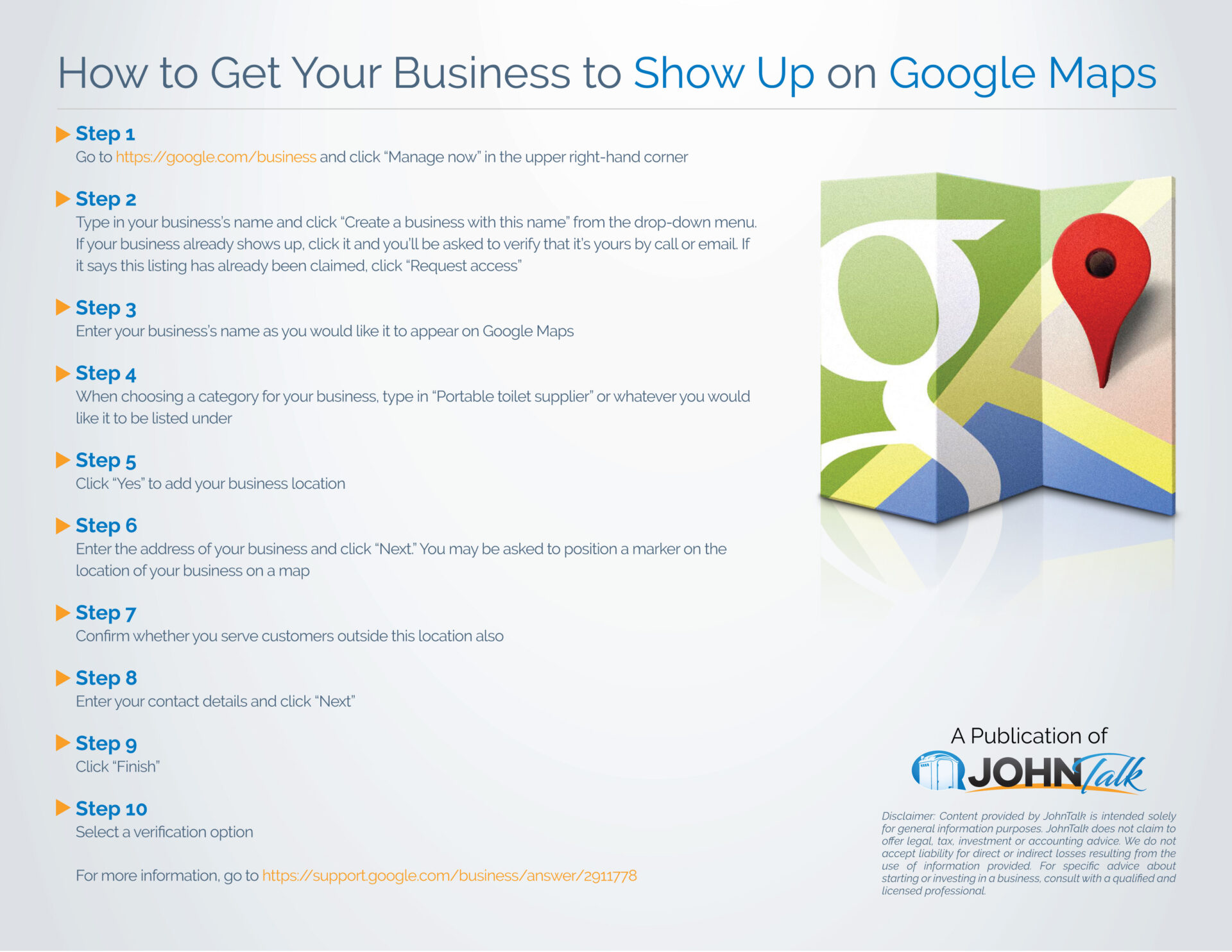 Hot to Get Your Business to Show Up on Google Maps