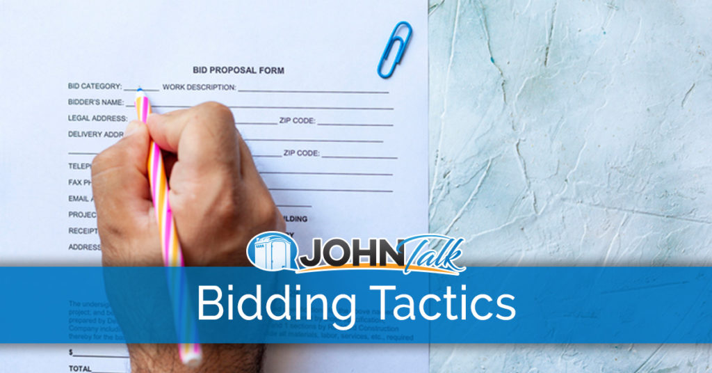 Effective Bidding Tactics for PROs