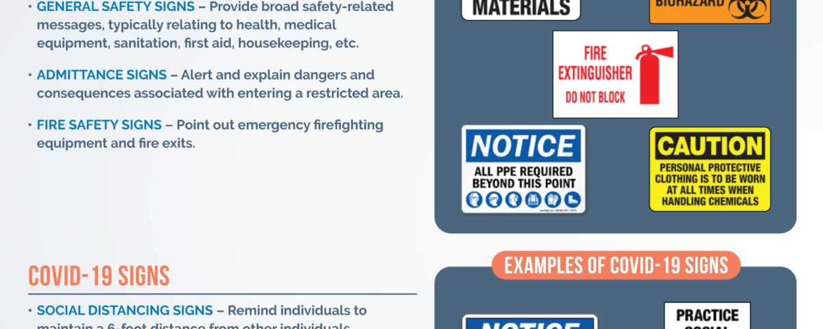 Different OSHA Signs to Consider