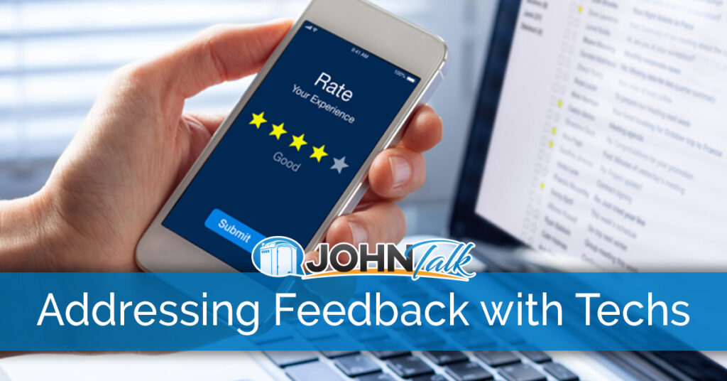 Addressing Positive & Negative Feedback with Individual Service Technicians
