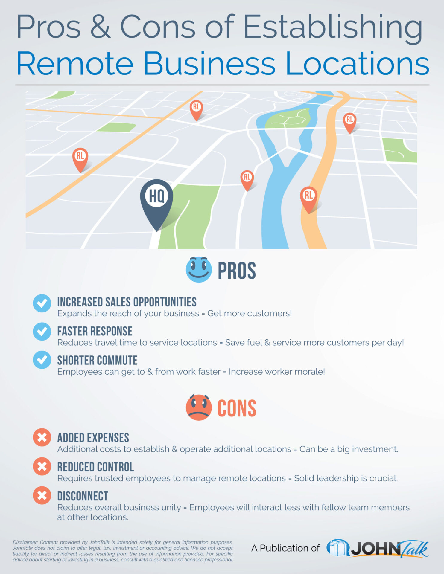 Pros & Cons of Establishing Remote Business Locations