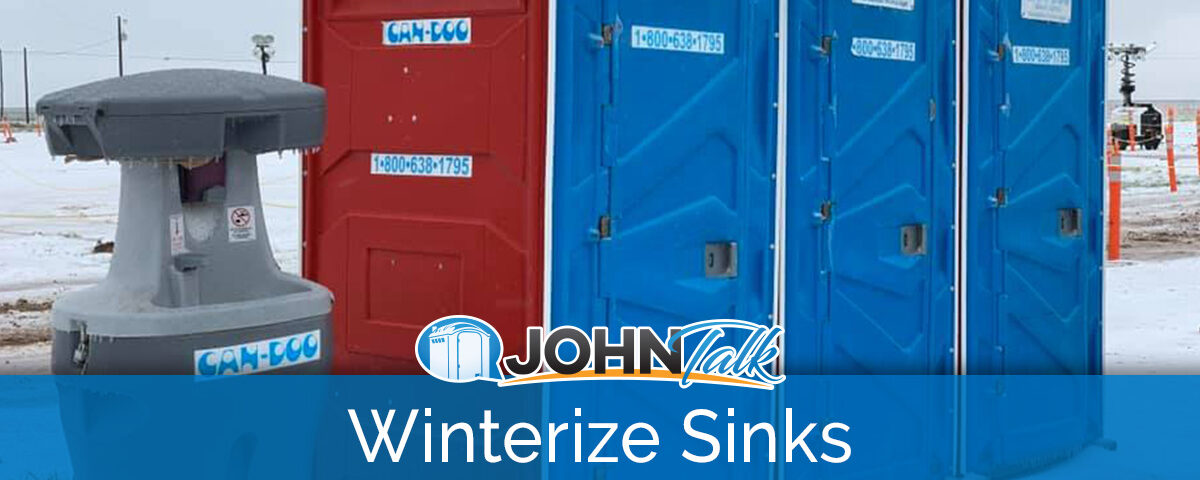 How to Winterize Portable Sinks