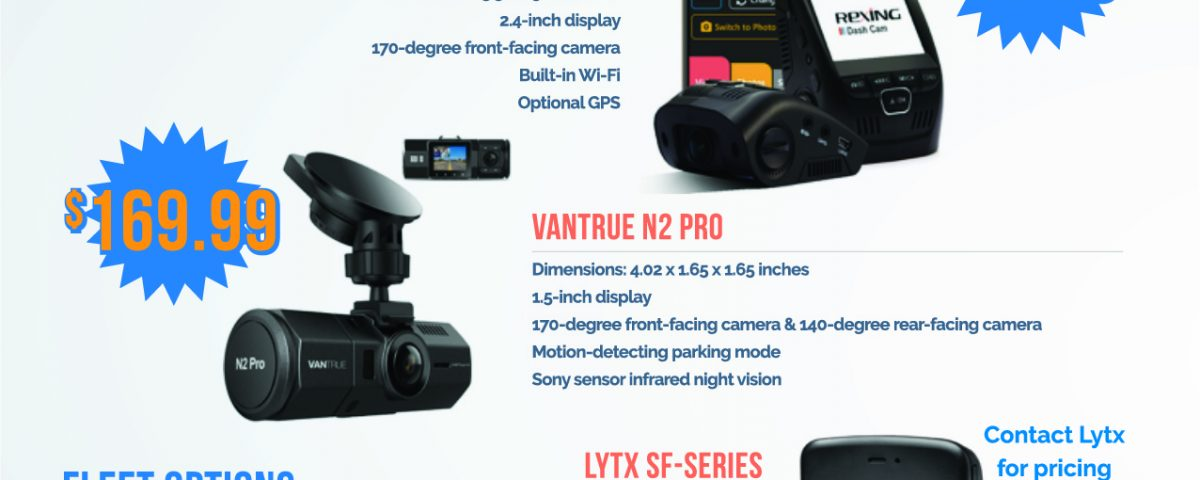 Dash Cams What Options are There