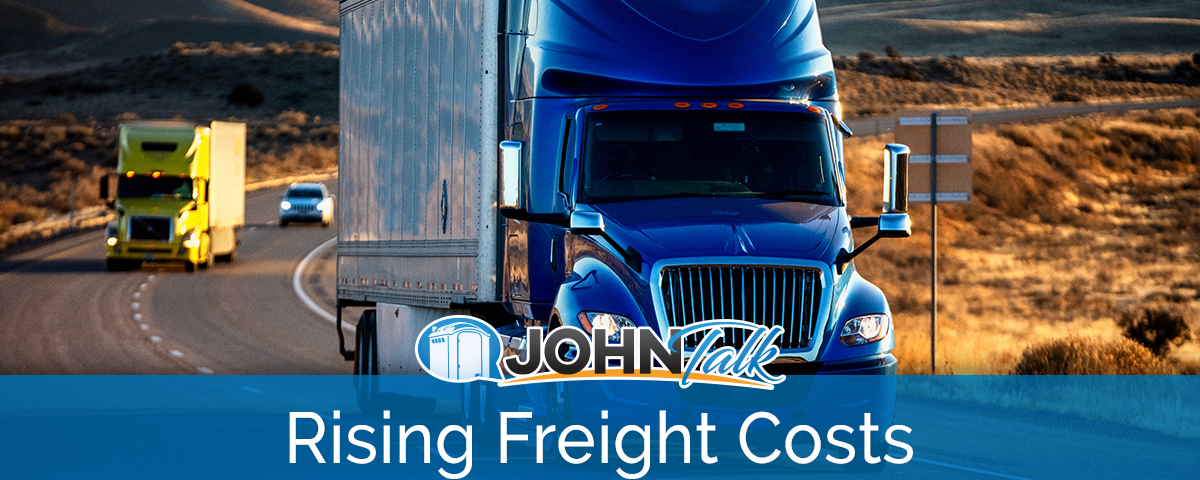 The Rising Costs of Freight