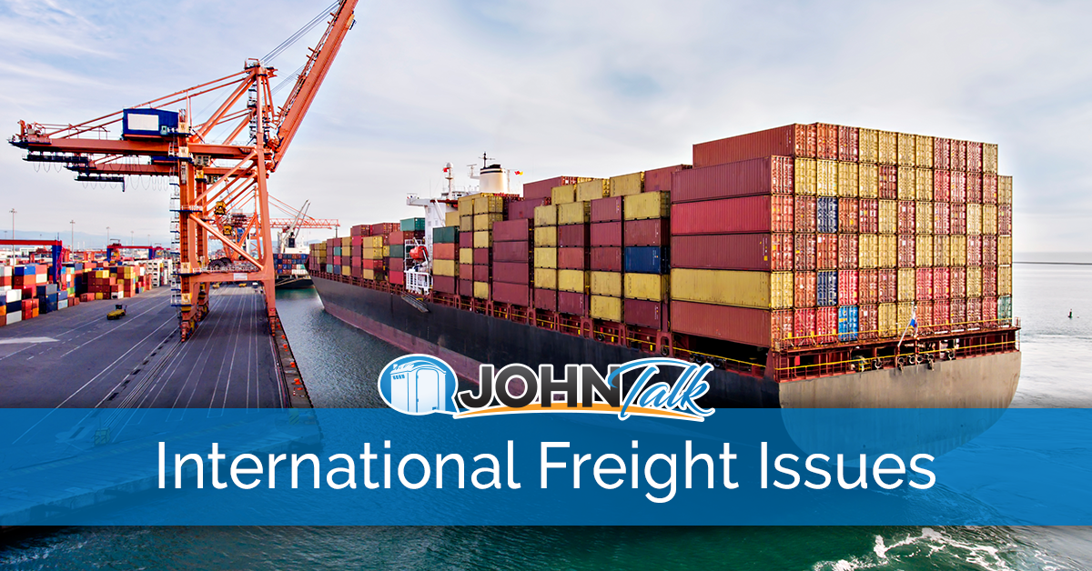 Issues with International Freight