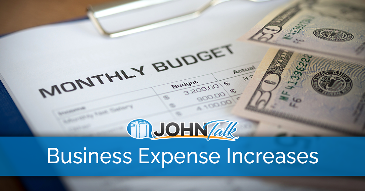 Business Expense Increases and How You Should Respond